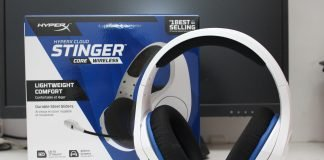 HyperX Cloud Stinger Core 頭戴式藍牙電競耳機